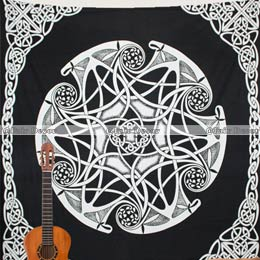 Queen Size Mandala Tapestries And Wall Hanging Throws