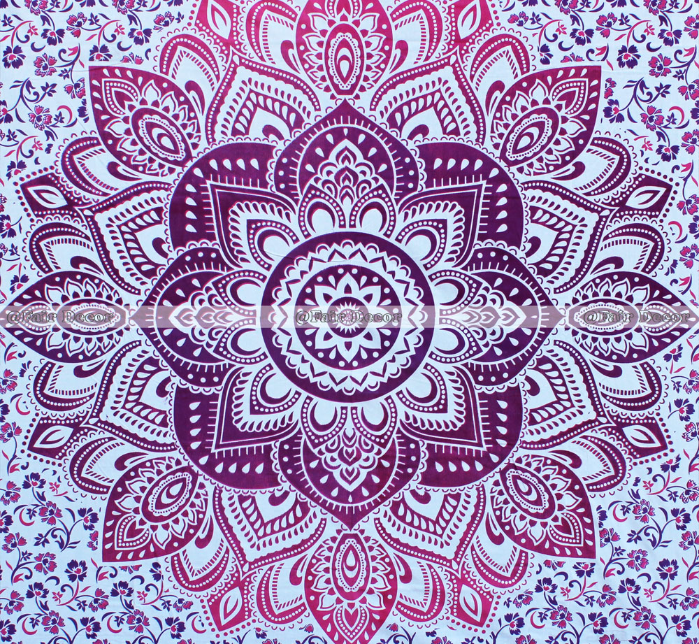 Cotton Mandala Duvet Cover