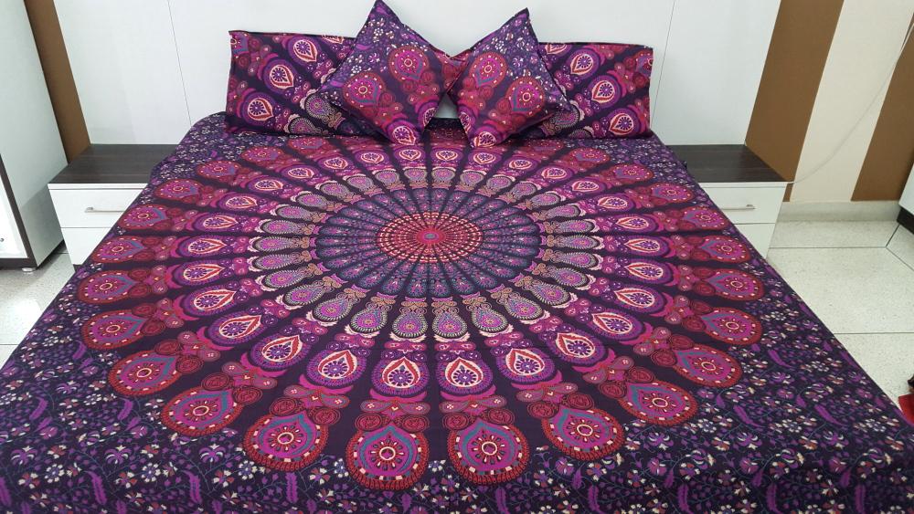 Purple Bedding Sets Pink Purple Mandala Bedding Sets