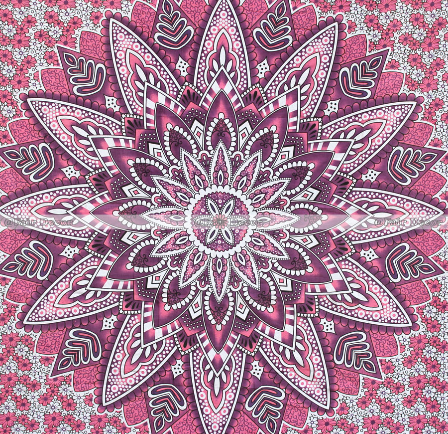 Pink Sunflower Tapestry