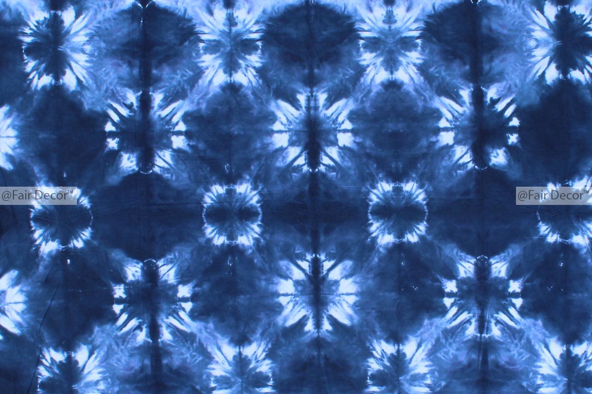 Full Size Shibori Bohemian Tie Dye Duvet Cover