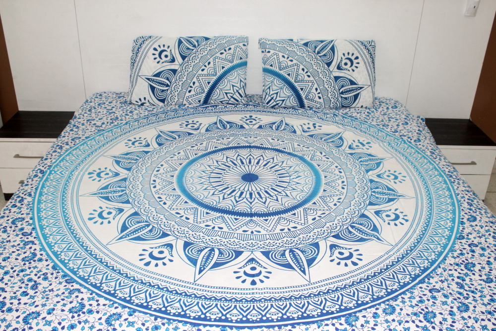 Blue Ombre Bedding Sets Queen, Ombre Bedding Set Queen