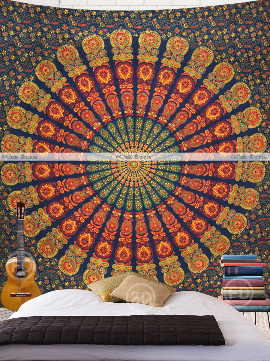 pinterest thinking college images wall tapestry medallion dorm magical on room best center bedrooms