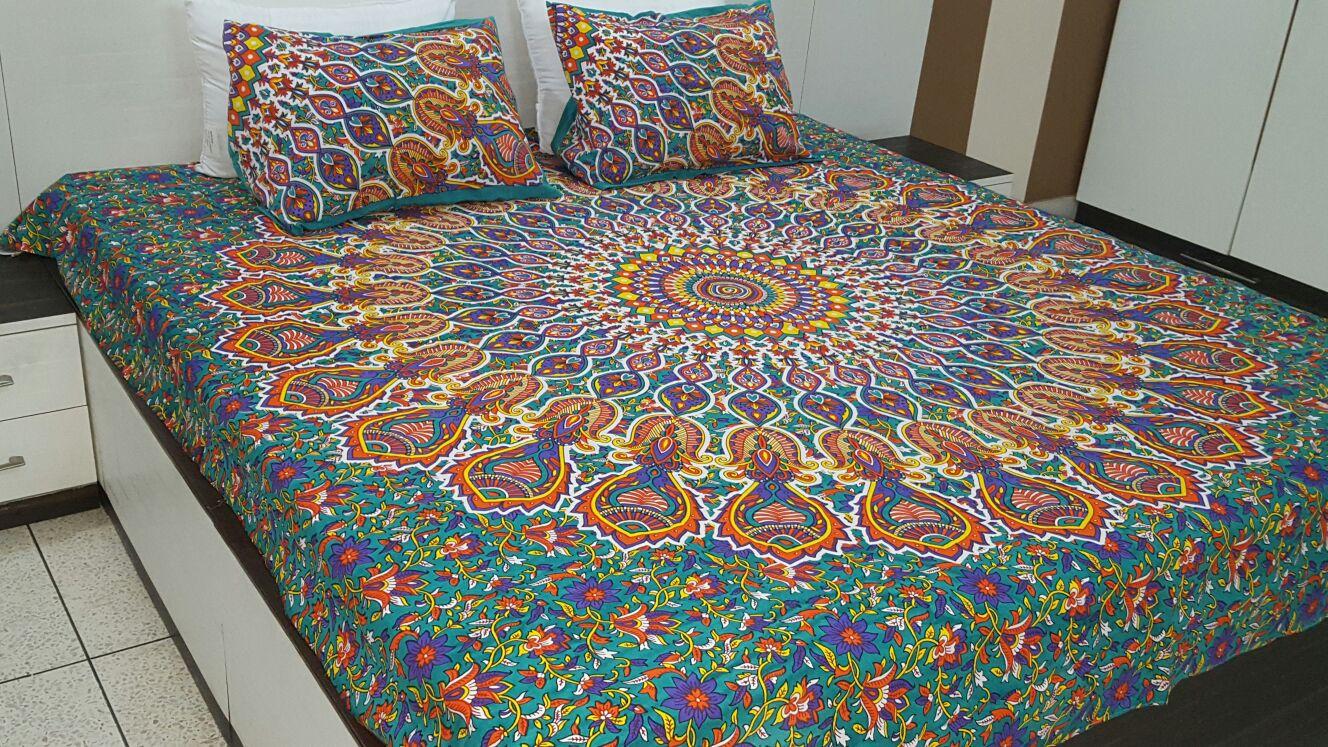 Boho Floral Bedding Queen Size Boho Floral Bedspread Set