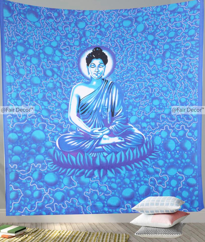 Buddha Tapestry Wall Hangings buddha tapestry - buddhist tapestry, buddha wall hanging